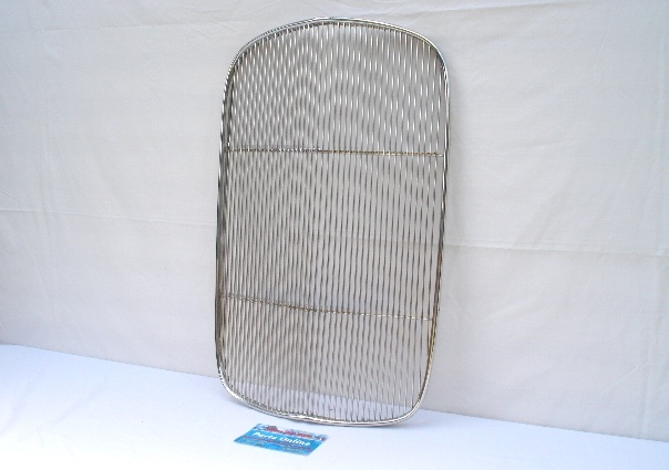 1932 Ford Passenger Car Original Style Stainless Steel Grill Insert W//Crank Hole